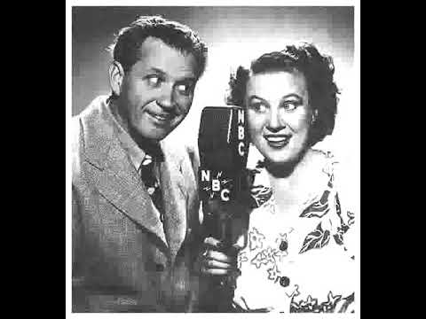 Fibber McGee & Molly radio show 11/11/47 Inflatable Raft from Army Surplus Store