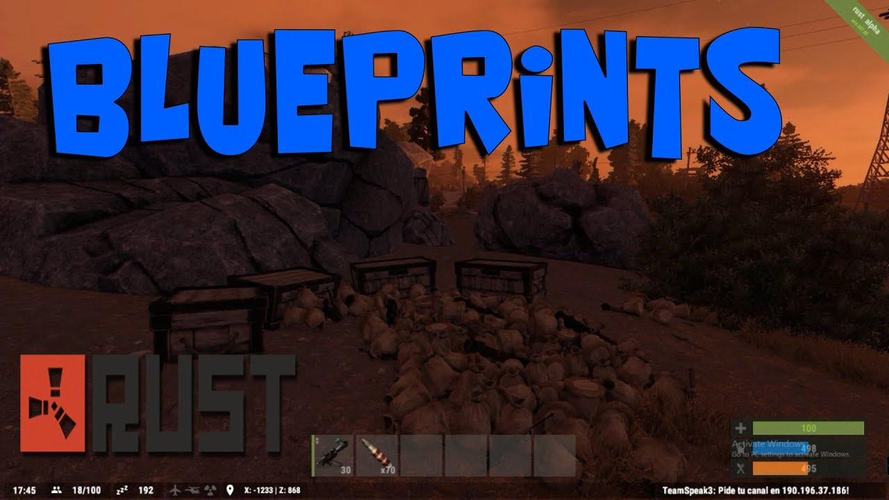 Volver al sistema de blueprints en rust o en espaol youtube volver al sistema de blueprints en rust o en espaol malvernweather Choice Image