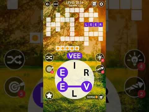 Wordscapes Level 2124   Answers - YouTube