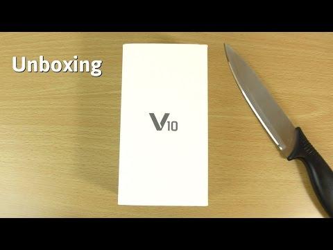 LG V10  -  Unboxing !