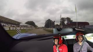 Ferrari 488 Spider passenger ride – Goodwood Festival of Speed 2017