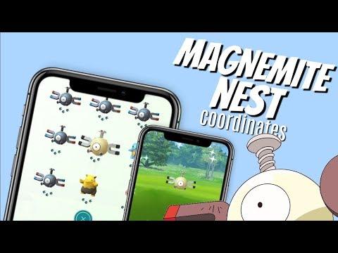 Best Shiny Magnemite Nest Coordinates in Pokemon Go | May 2019