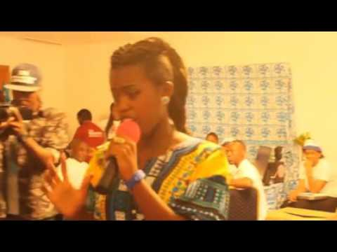 Song stage at the mega career education faire 2015 (ASAY DEM TALK)