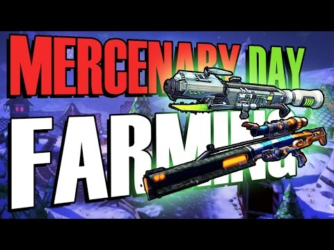 """AN E-TECH MIRACLE!! - Borderlands 2 Christmas Chest Farming (Mercenary Day DLC)"
