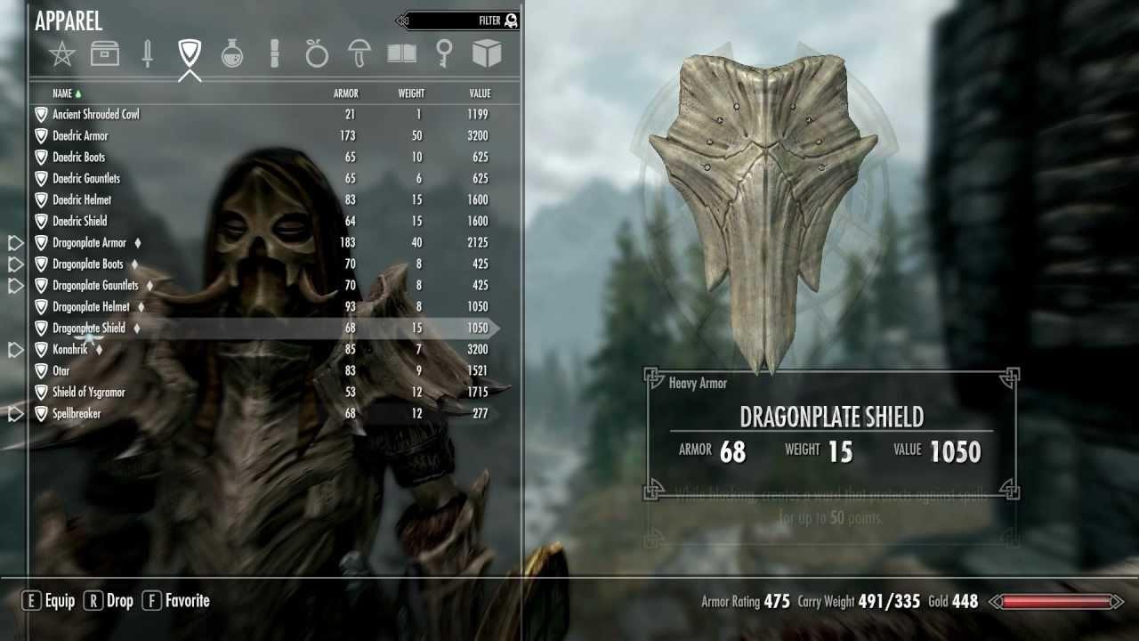 Most Powerful Armor Skyrim