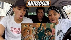 Ed Sheeran & Travis Scott - Antisocial [Official Video] REACTION REVIEW