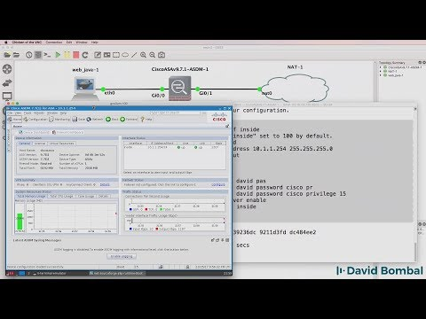 GNS3, Cisco ASA And ASDM: Configure VIRL ASAv Firewall With GNS3 And ASDM (Part 4)