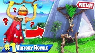 SECRET ISLAND OF TREE PEOPLE in Fortnite Battle Royale! Fortnite Creative Funny Moments!