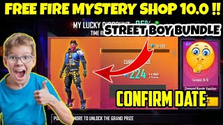 mystery shop 10.0 confirm date || mystery shop 10.0 free fire // free fire new event