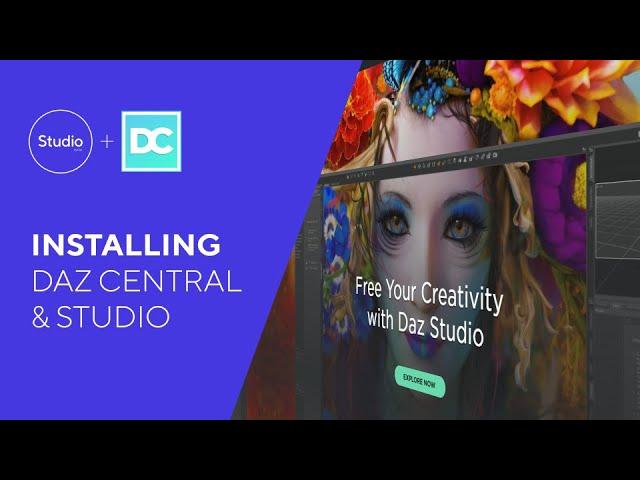 Daz 1.0: Downloading and Installing Daz Studio and Daz Central