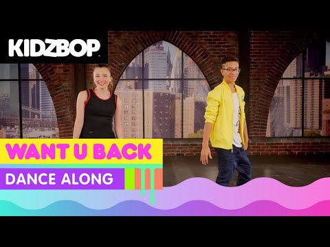 KIDZ BOP Kids  Want U Back #MoveItMarch