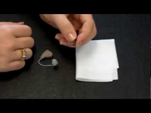 Harmony Hearing Shows How to Clean a GN ReSound Alera Hearing Aid