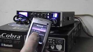 "Cobra 29 LTD BT Bluetooth Review *Part 2* ""Bluetooth Functions"" CB Radio Overview"