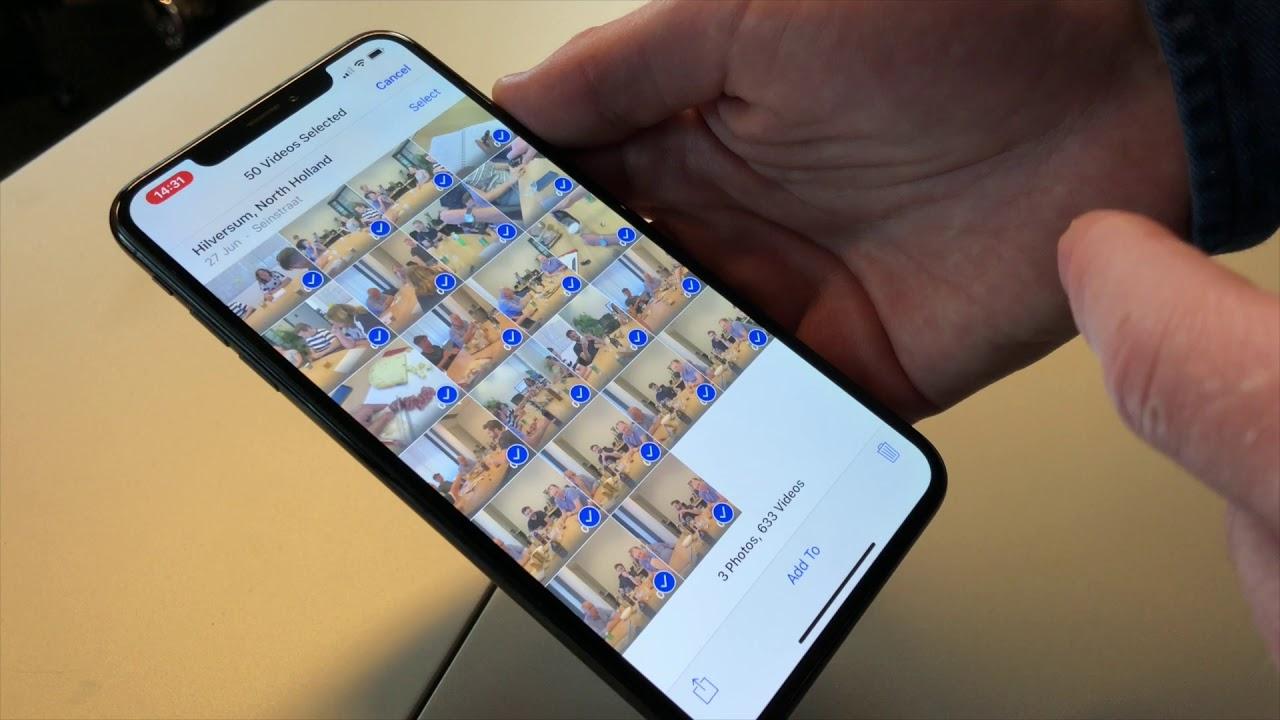 Meerdere Foto S Selecteren In De Foto S App Op Iphone Of Ipad