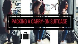 HOW TO PACK A CARRY ON | PACKING TIPS