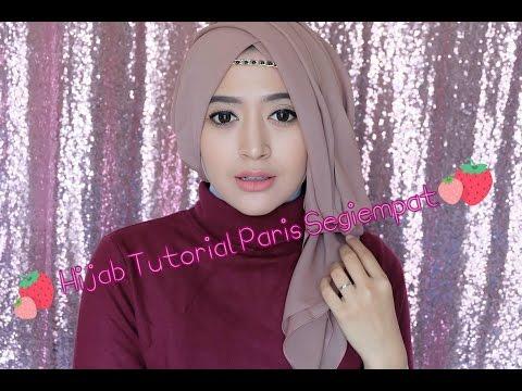 hijab tutorial untuk acara pesta pernikahan wisuda atau ulang tahun.