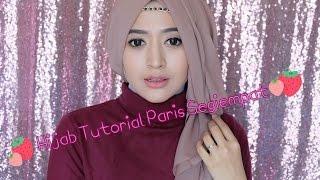 Tutorial Hijab Paris Semi Formal Ala Natasha Farani Hijab Dream Co Id