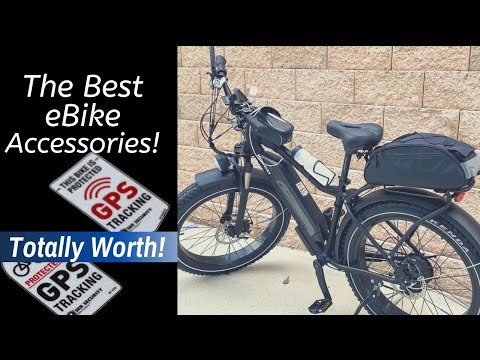 The Bike Accessories I Bought for my eBike