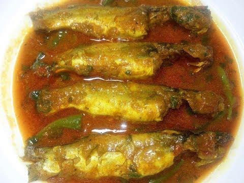Tangra Macher Curry Recipe - Tangra Macher Jhol In Bengali - ট্যাংরা মাছের ঝোল