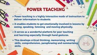Power Teaching Method | Achariya Teaching Methodology