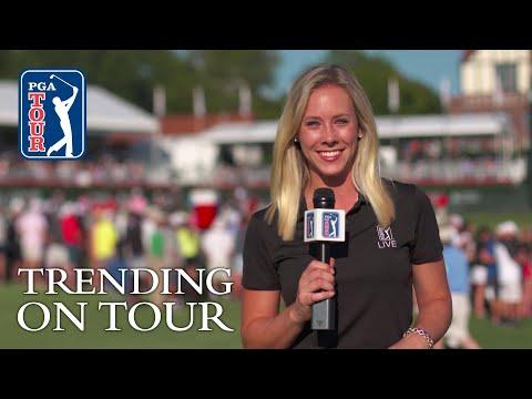 JT gets the Cup, Nantz's crazy backyard course & T-Rex golf