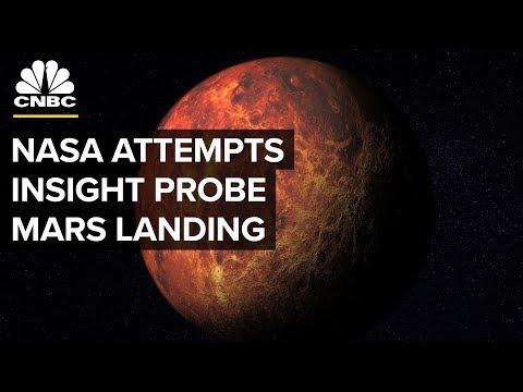 NASA Attempts to Land Insight Probe on Mars - Nov. 26, 2018