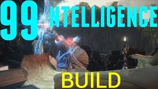 Dark Souls 3 - 99 Intelligence Glass Cannon Build & PvP.