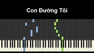 Con Đường Tôi - Trọng Hiếu | Piano Tutorial #61 | Bội Ngọc Piano