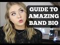 HOW TO TAKE YOUR BAND BIO FROM AVERAGE TO AMAZING