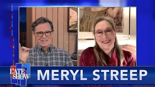 "Meryl Streep Takes ""The Colbert Questionert"""