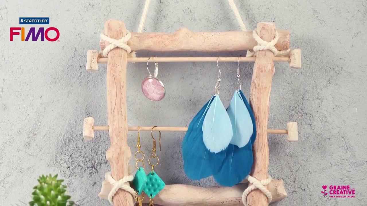 Bois Flotté Porte Photo comment réaliser un porte bijoux effet bois flotté avec fimo