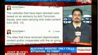 Modi government crack down websites carrying Anti-India views