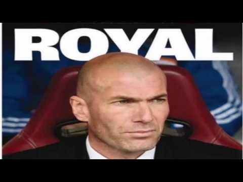 Zinedine Zidane, new coach of Real Madrid in world newspapers