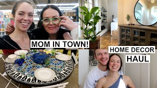 MOM IN TOWN! HOME DECOR & FLEA MARKET HAUL