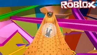 Misket Olup Kaydık! - Panda ile Roblox Mega Marble Run Pit