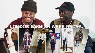 THE BEST & WORST OF LONDON FASHION WEEK FALL/WINTER 2018 (MUKBANG REVIEW)