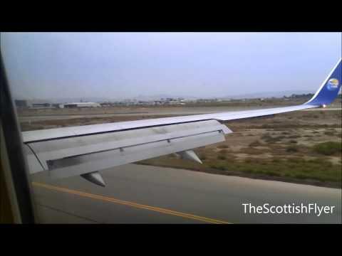 Thomas Cook 757-300 Landing At Larnaca