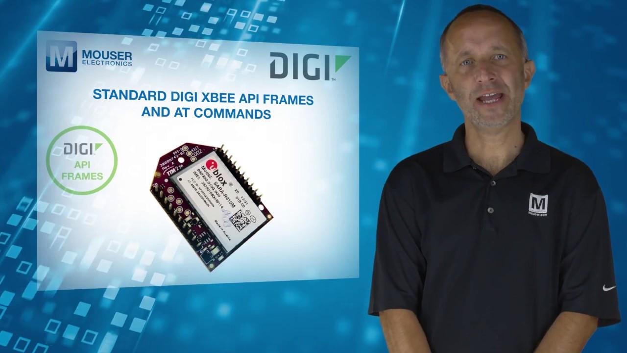 Digi International XBee3™ Cellular Embedded Modem   Featured Product  Spotlight