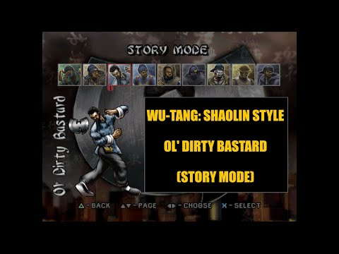Wu-Tang: Shaolin Style | Ol' Dirty Bastard (Story Mode) | Playstation