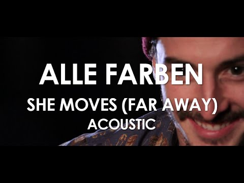 Alle Farben - She Moves (Far Away) ft. Graham Candy - Acoustic [ Live in Paris ]