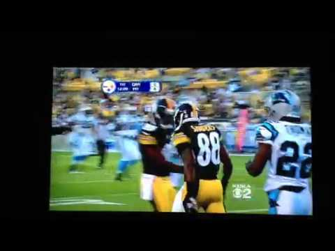 Charlie Batch TD pass to Emmanuel Sanders
