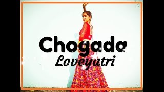 CHOGADA | Loveyatri | Darshan Raval,Asees Kaur | Choreography by Shrinkhala Sharma