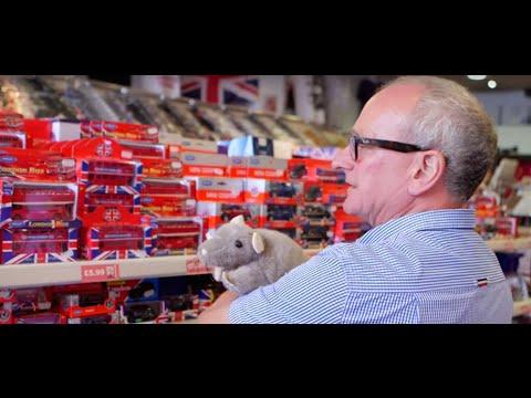 Inside a London souvenir shop with owner Stuart, Londoner #160