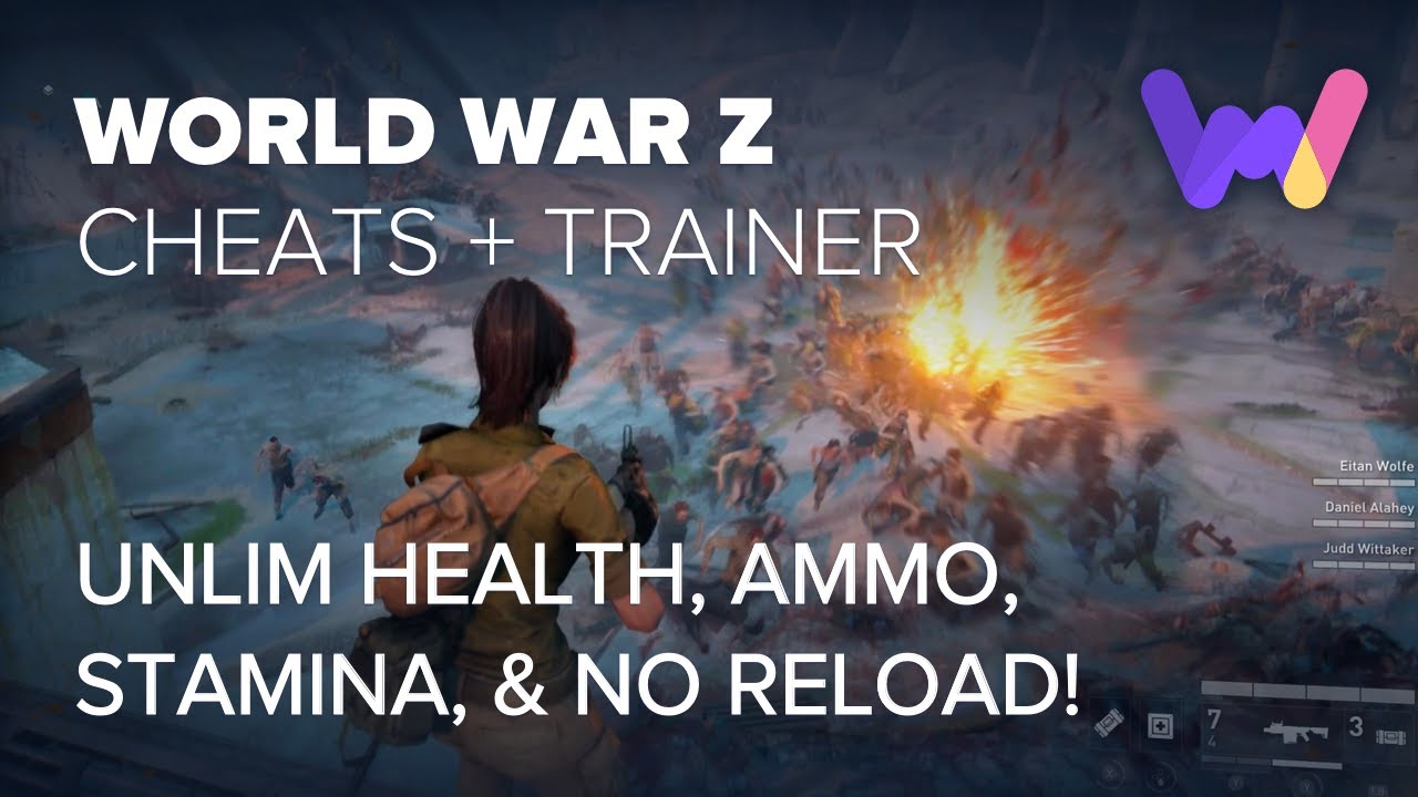 World War Z Cheats and Trainer