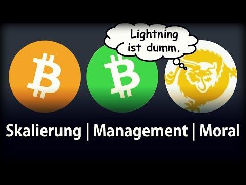 Bitcoin Core, Cash, SV im Vergleich | Meine Meinung