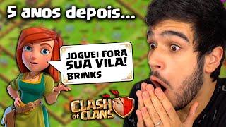 COMO ESTÁ MINHA VILA DEPOIS DE 5 ANOS SEM CLASH OF CLANS?!
