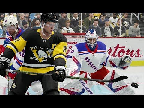 NHL 12/5/2017 - Pittsburgh Penguins vs New York Rangers - Full Game (Penguins vs Rangers NHL 18)