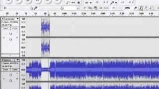 Видеоурок в программе Audacity(Видеоурок по обработке вокала и наложении музыки в программе Audacity Большая ко всем просьба. Я очень редко..., 2011-03-08T07:05:41.000Z)