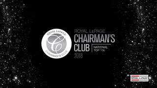 2018 Royal LePage Chairman's Club - National Top 1%