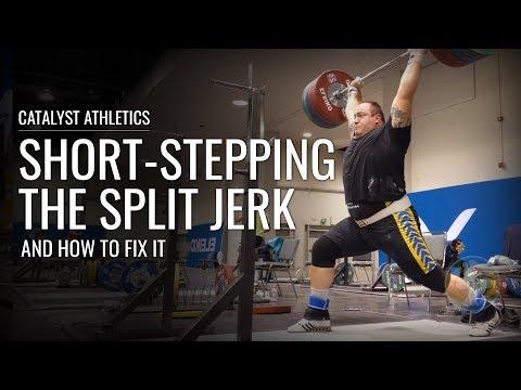Short-Stepping The Split Jerk - How to Fix It
